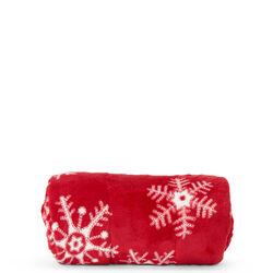 Coperta natalizia fiocchi di neve, , large
