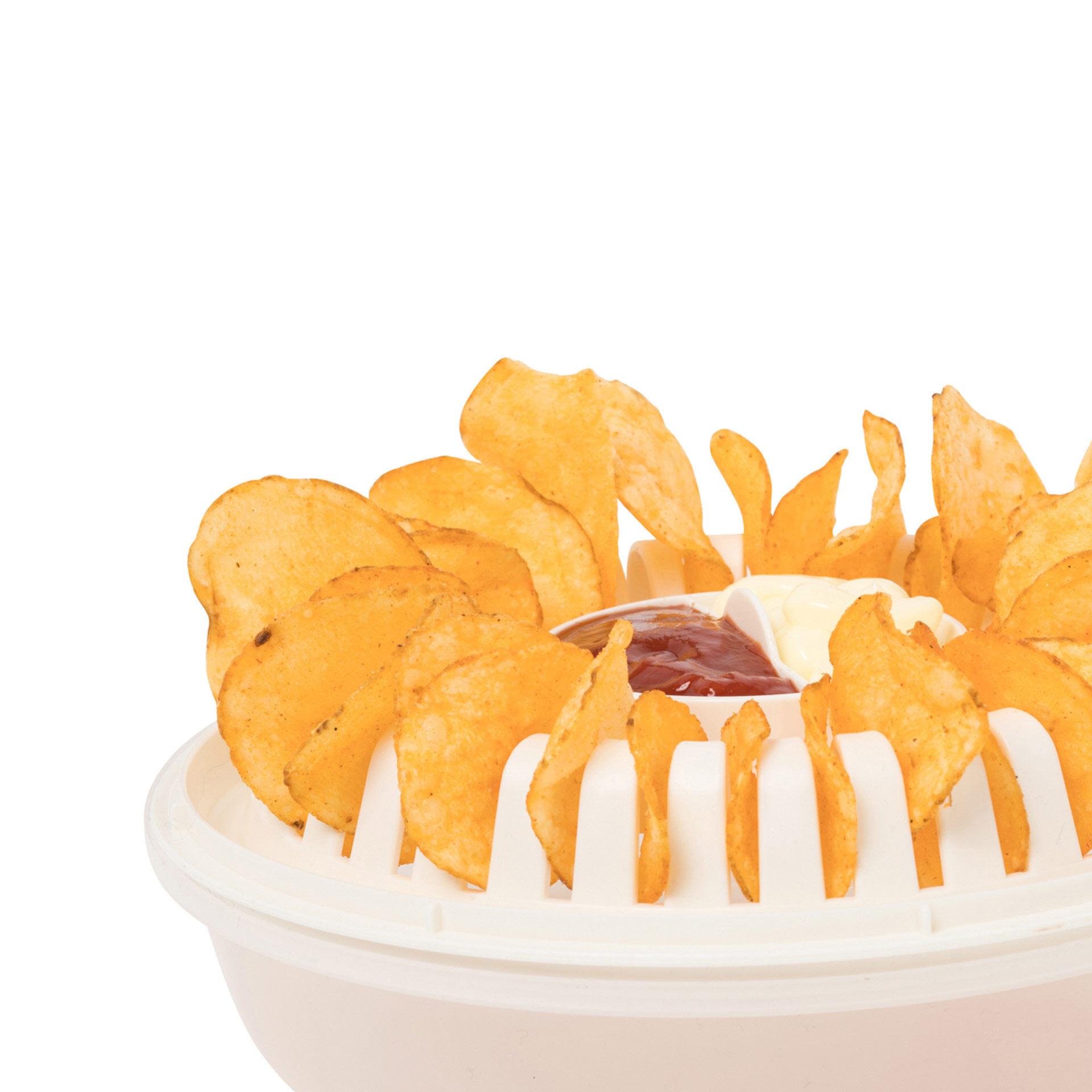 Récipient pour frites au micro-ondes, , large