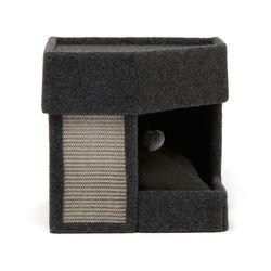 Cuccia per gatti con tiragraffi, , large