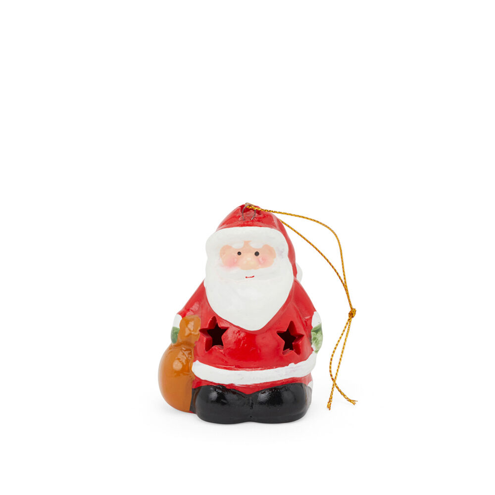 Décoration de Noël lumineuse en céramique pour sapin, , large
