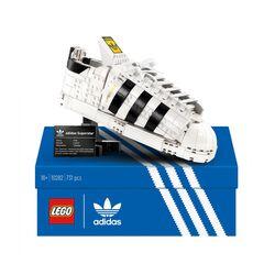 LEGO adidas Originals Superstar, Costruzione in Mattoncini, Sneaker da Collezion 10282, , large