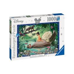 Ravensburger Puzzle 1000 pezzi 19744 - Disney Classic Il libro della giungla, , large