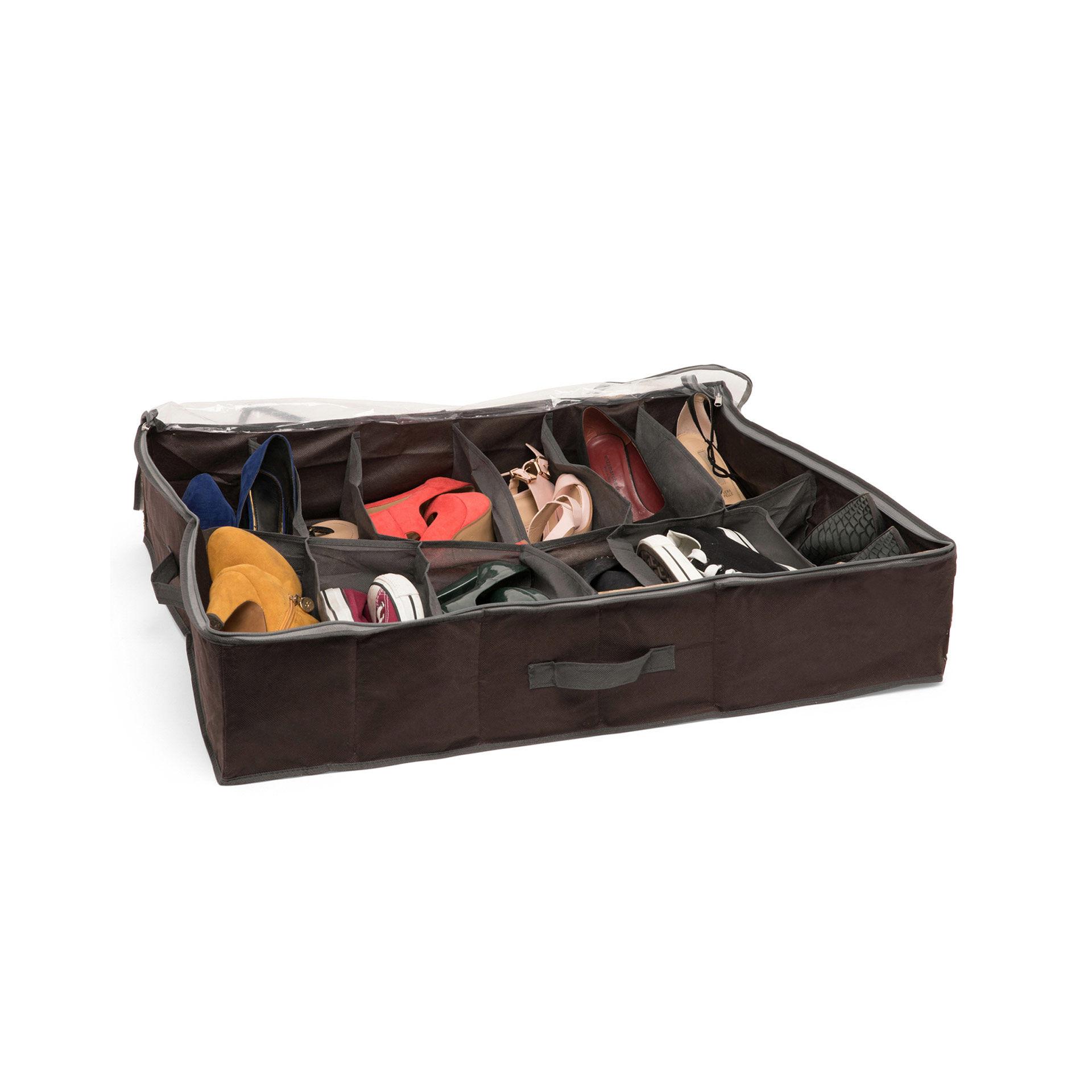 Boîte de rangement pour chaussures sous le lit, , large