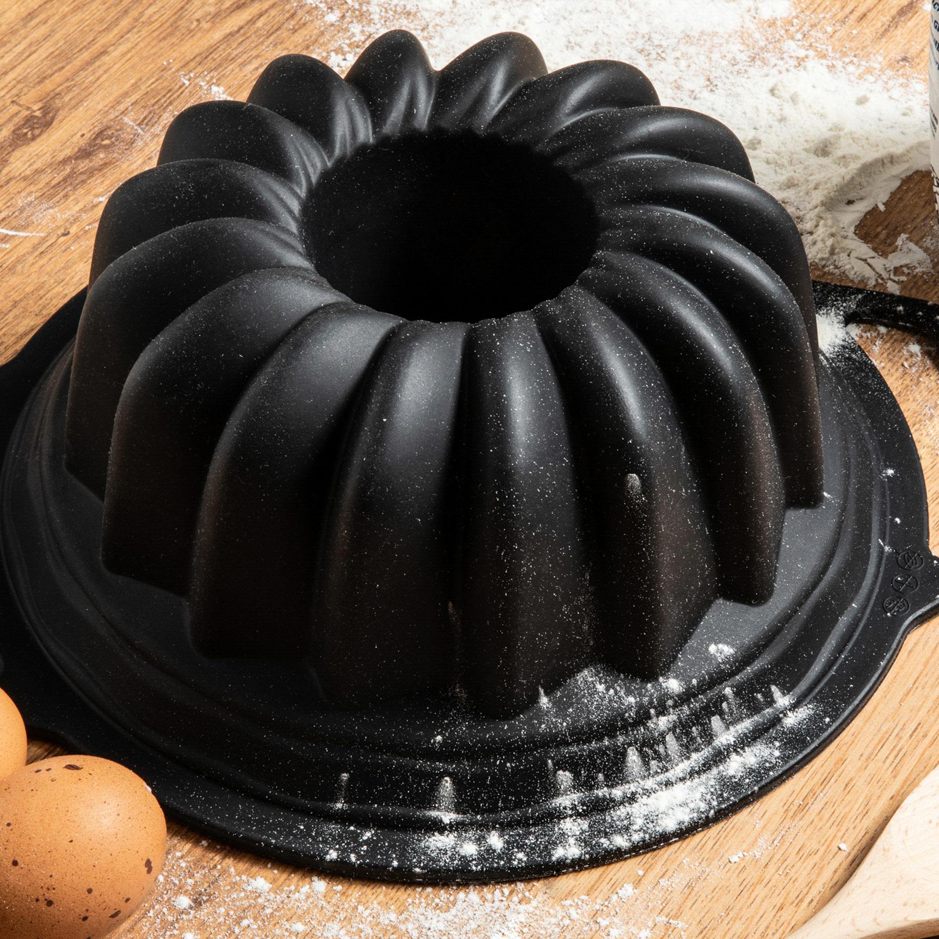 Moule en silicone pour gâteau en couronne, , large