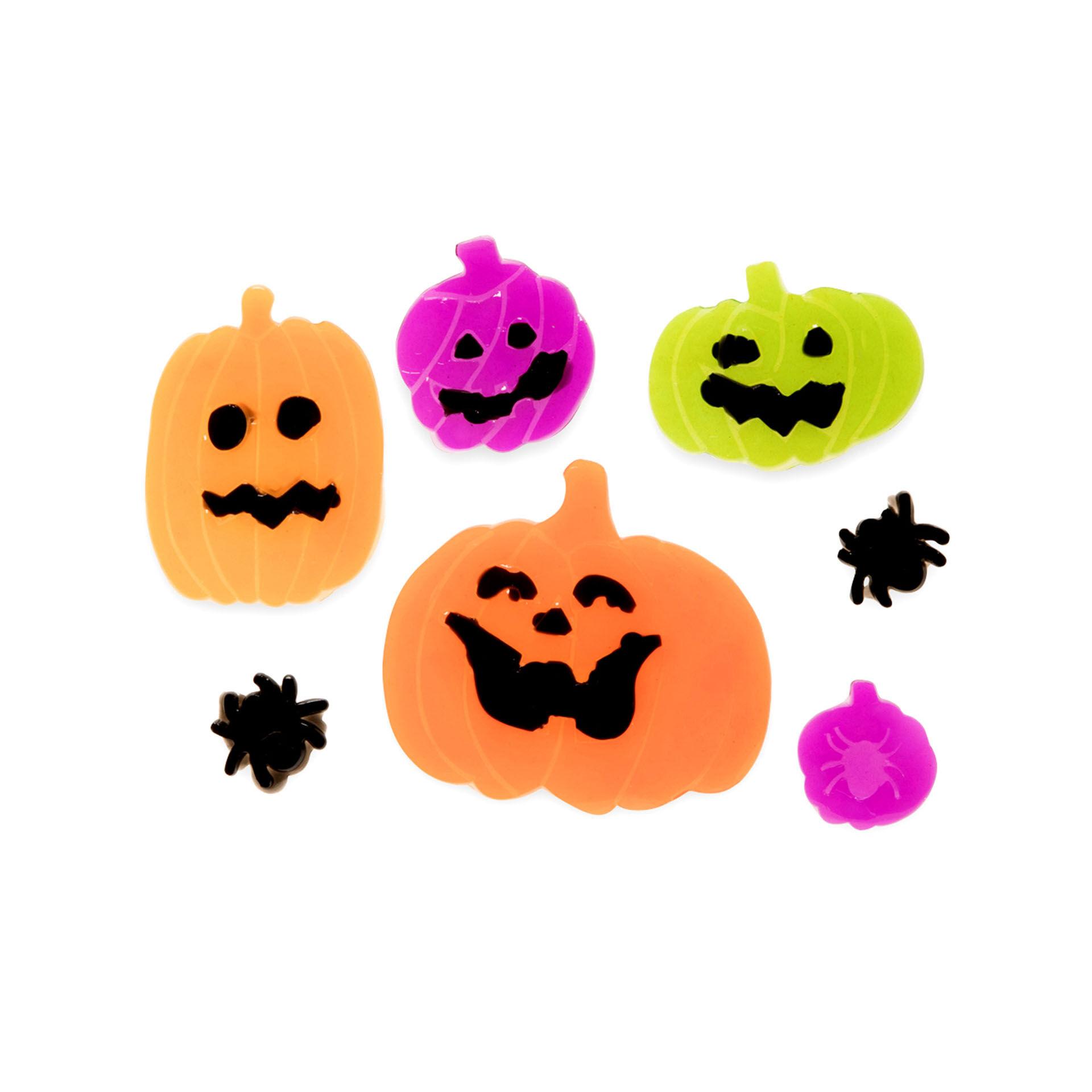 Vitrophanie Halloween - Citrouilles, , large