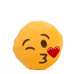 Cuscino emoticon bacio, , large