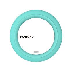 Caricabatteria wireless -  colore Celeste, celeste, large