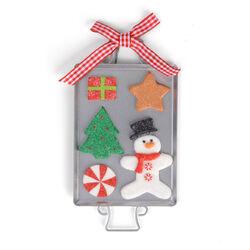 Addobbo natalizio per albero vassoio di dolcetti, , large