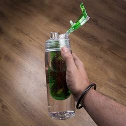 Bottiglia con infusore per aromatizzare l'acqua, , large