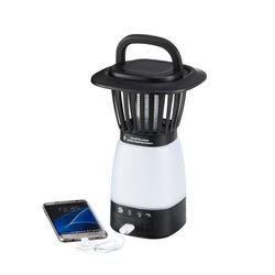 Lanterna solare cattura insetti con powerbank, , large