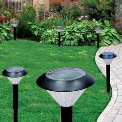 Set 2 lampioncini solari a LED, , large