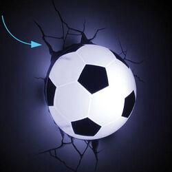 Lampada da parete a forma di pallone da calcio, , large