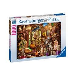 Ravensburger Puzzle 1000 pezzi 19834 - Laboratorio Di Merlino, , large