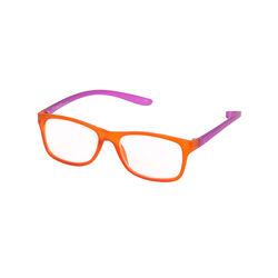 Occhiali da lettura arancioni/viola, +2, , large