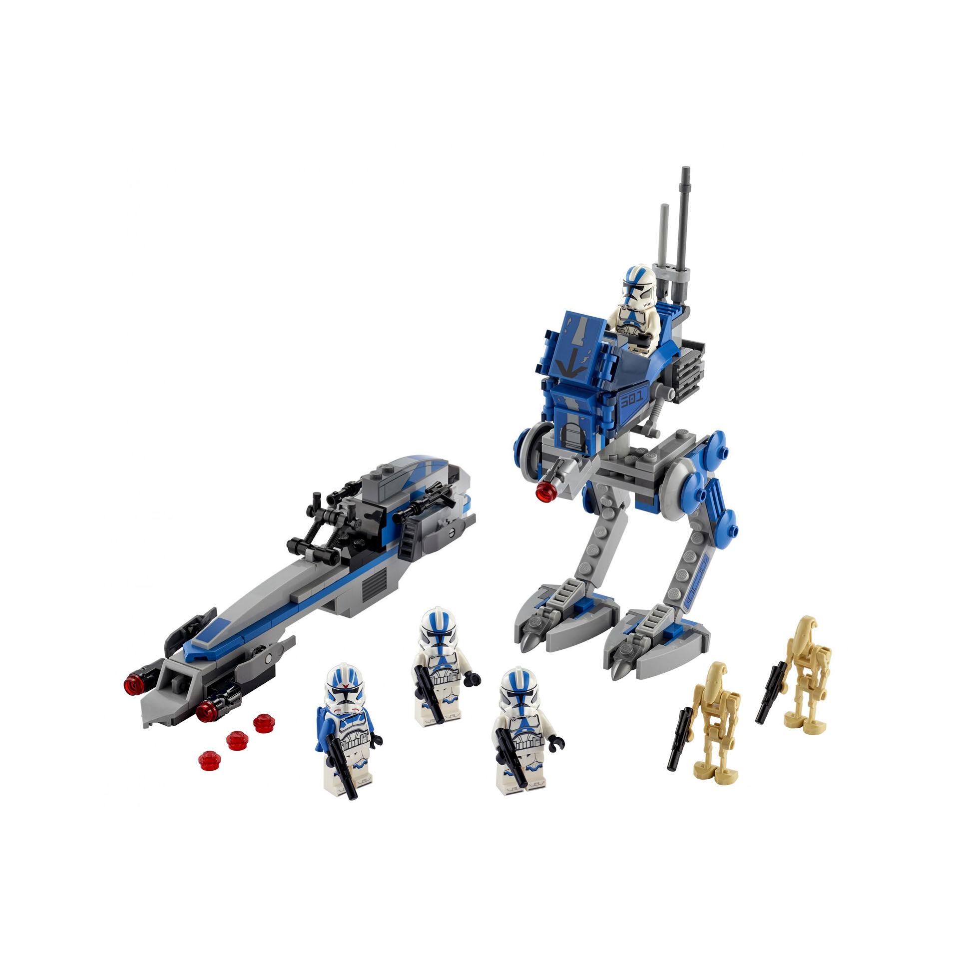 Les Clone troopers de la 501ème légion 75280, , large