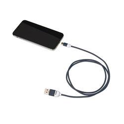Cavo dati USB Type - C linea Pantone, blu, blu, large