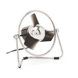 Ventilatore da scrivania USB - Ø 13 cm - The Sharper Image, , large