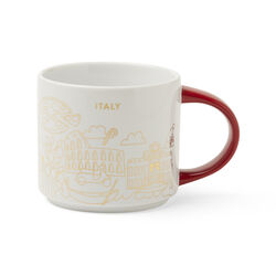 Red Italy YAH Mug, , large