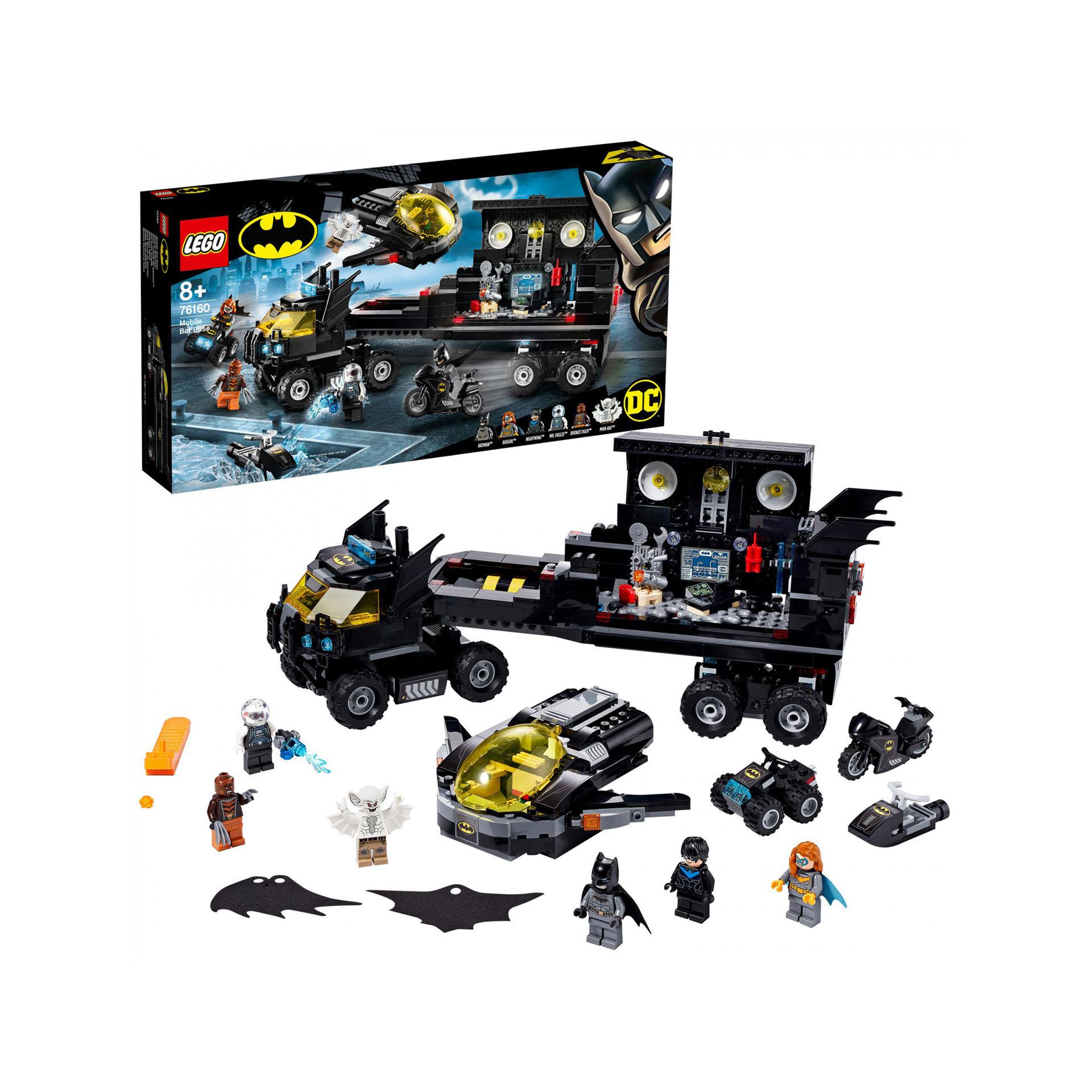 La base mobile de Batman 76160, , large