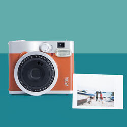 Fotocamera istantanea Fuji Instax Mini 90 brown, , large