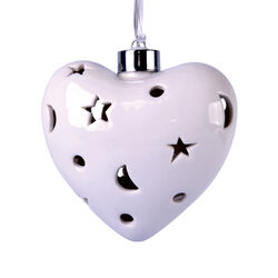 Cuore con 10 Led, , large