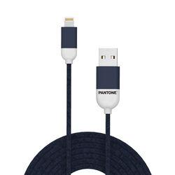 Cavo dati USB Lightning linea Pantone - blu, blu, large