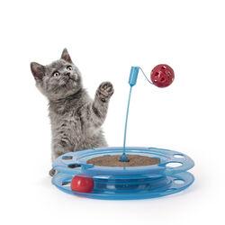 Gioco con tiragraffi per gatti, , large