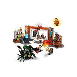 LEGO Marvel Spider-Man al laboratorio Sanctum, Giocattoli Bambini 7 Anni e Più, 76185, , large