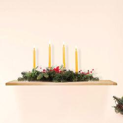 Centrotavola natalizio con porta candele, , large