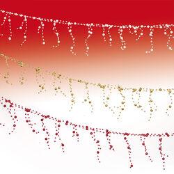 Ghirlanda con palline colorate, , large