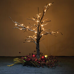 Mini albero con led, , large