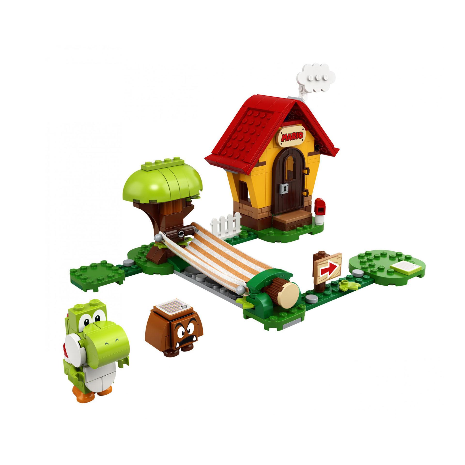 Ensemble d'extension La maison de Mario et Yoshi 71367, , large