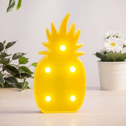 Lampada LED a batterie ananas, , large