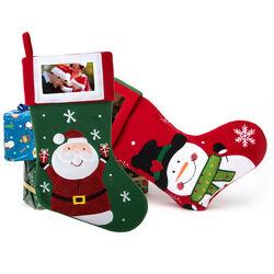 Calza Natale con portafoto, , large