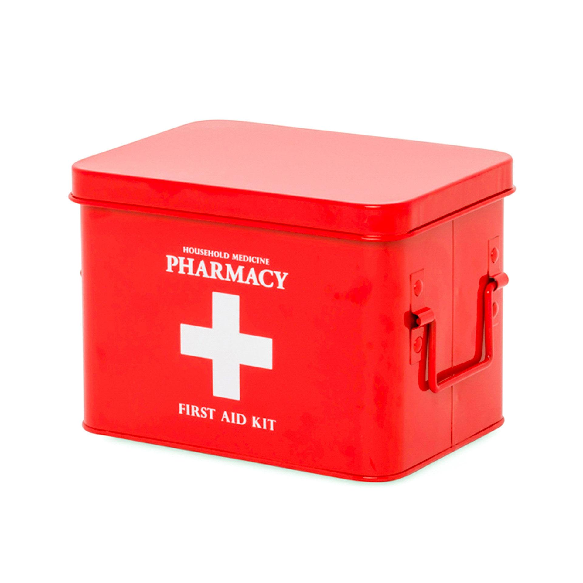 Boîte en métal pour médicaments - large, , large