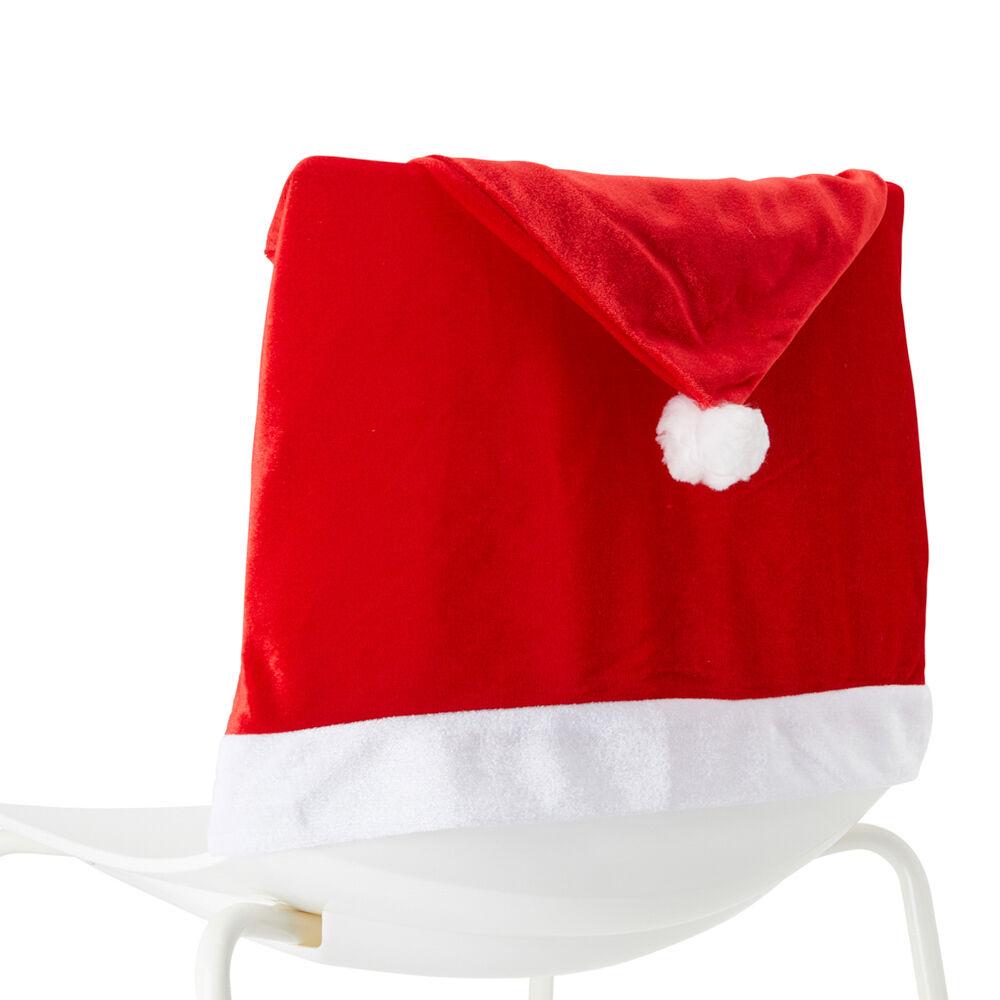Lot de 4 housses de siège de Noël, , large