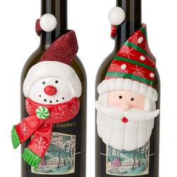 Decorazione natalizia per bottiglia, , large