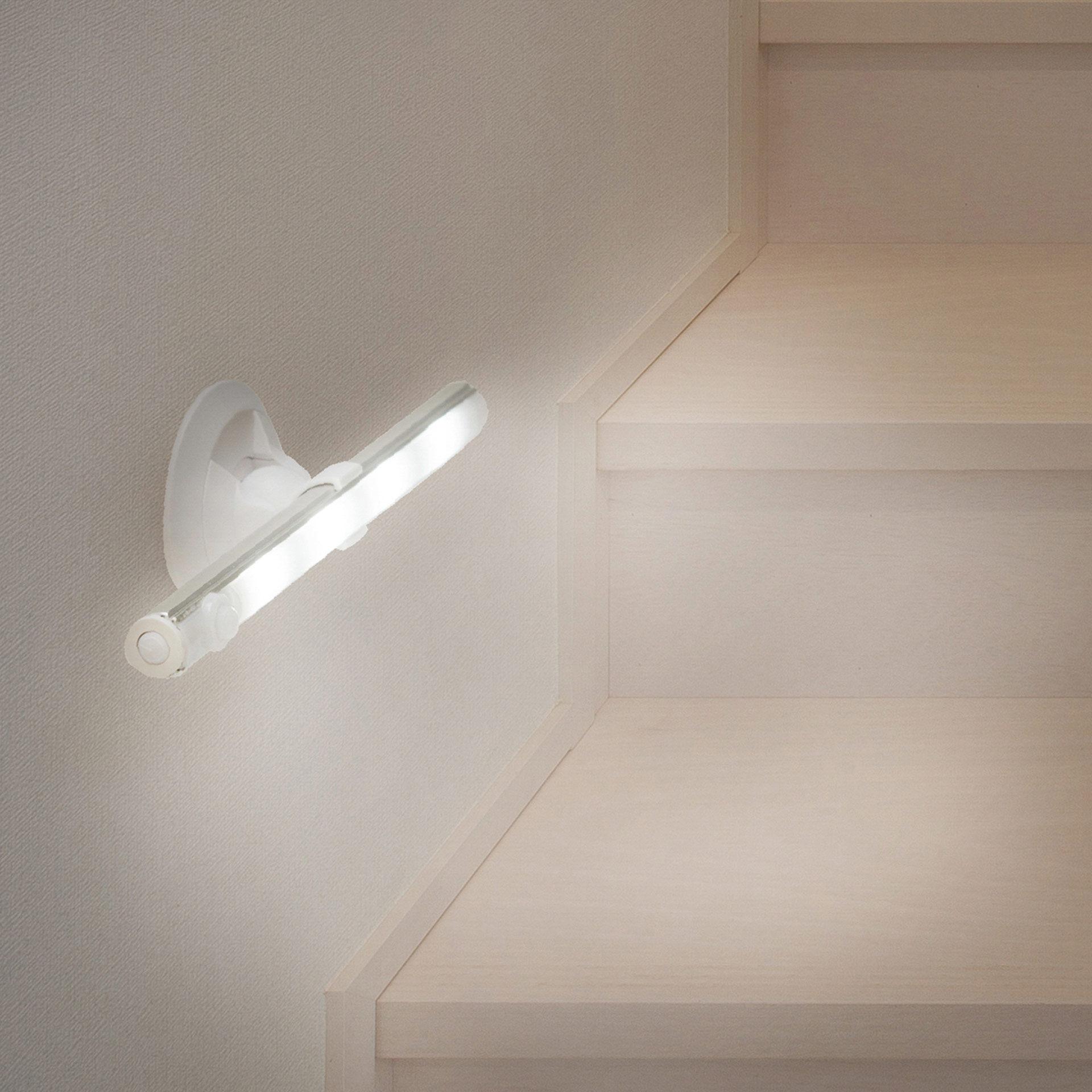 Lampe LED avec détecteur de mouvement, , large
