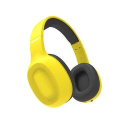 Cuffie stereo Bluetooth wireless linea Pantone - giallo, giallo, large