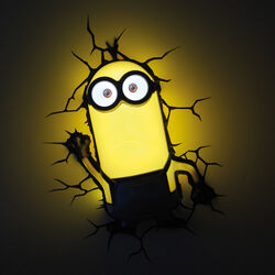 Lampada da parete Minions Kevin, , large