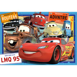 Ravensburger Puzzle 2x24 pezzi 07819 - Cars, , large