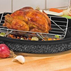 Griglia per cottura pollo e roastbeef, , large