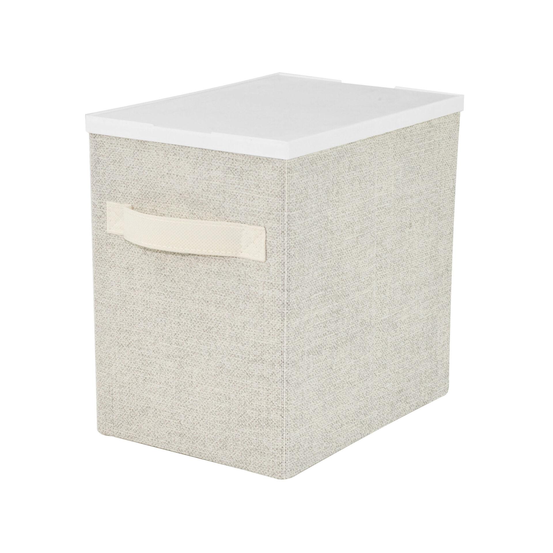Boîte de rangement pliable 19 x 26,5 x 26,5 cm, , large
