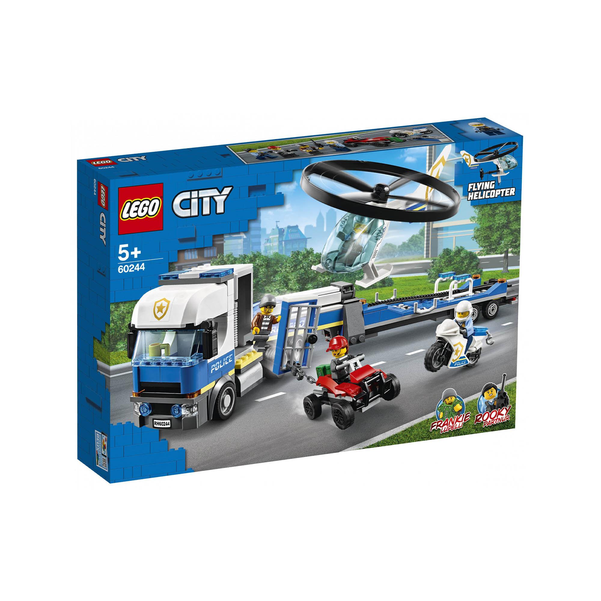 Le transport de l'hélicoptère de la police 60244, , large