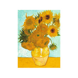 Ravensburger Puzzle 300 pezzi 14006 - Van Gogh: Vaso di Girasoli, , large