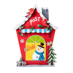 Cassetta delle lettere natalizia, , large