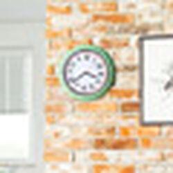 Orologio rotondo retro da parete, , large