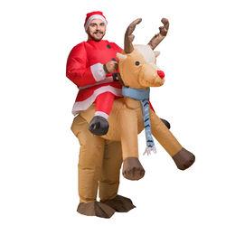 Costume gonfiabile Babbo Natale, , large