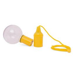 Lampada LED luce fredda con corda Colore giallo, giallo, large