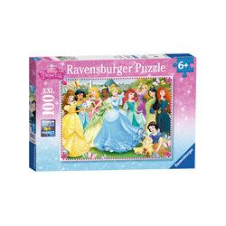 Ravensburger Puzzle 100 pezzi 10570 - Principesse Disney A, , large